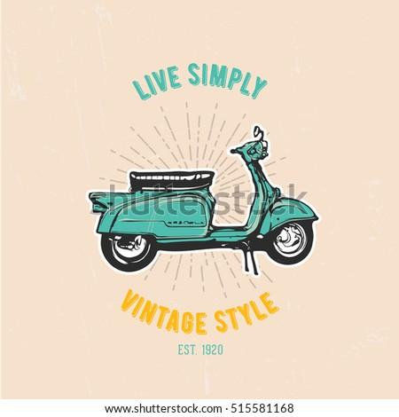 vintage vector illustration  ...