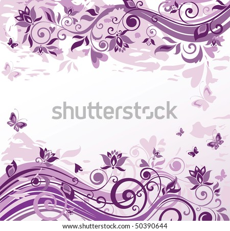 wallpaper violet. Vintage violet background