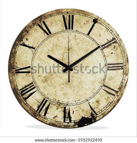 vintage wall clock for interior decoration Сток-фото ©