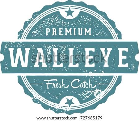 vintage walleye fish restaurant
