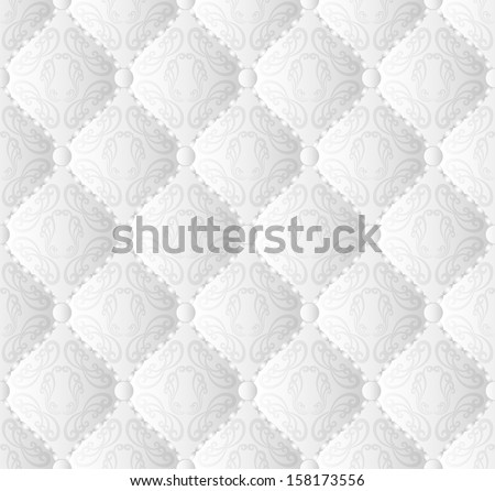 vintage wallpaper seamless - stock vector