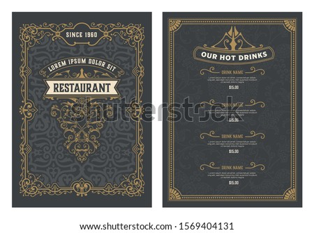 Vintage wedding invitation. 20 colors layouts. Save the date. Vector illustration