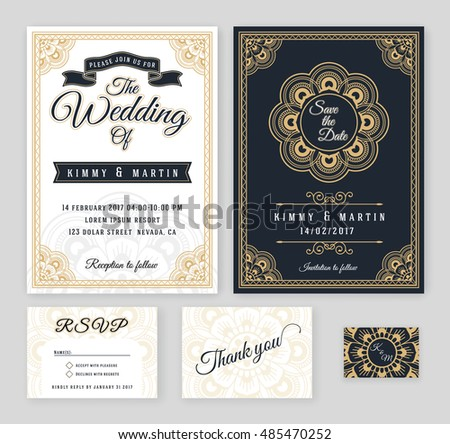 Vintage henna mehndi background download free vector art stock vintage wedding invitation mehndi mandala design sets include invitation card save the date rsvp stopboris Gallery