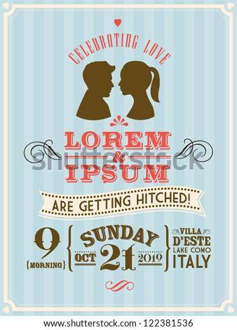 Postcard wedding invitations template free vector download 15377 sponsored stopboris Choice Image