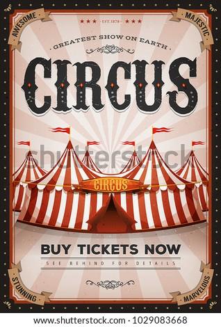 vintage western circus poster ...