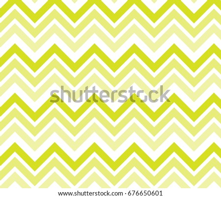Vintage yellow zigzag chevron pattern background.