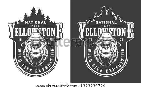 vintage yellowstone national
