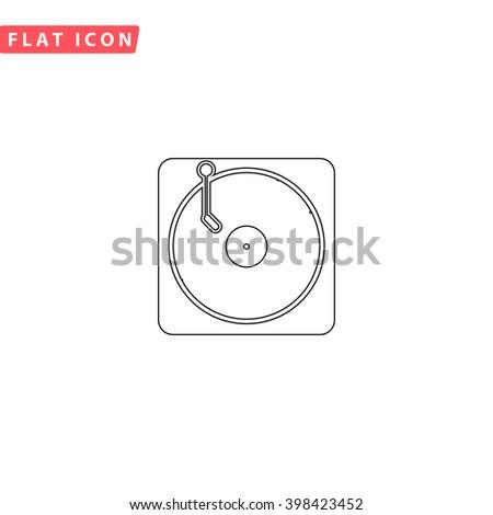 vinyl icon vector vinyl icon