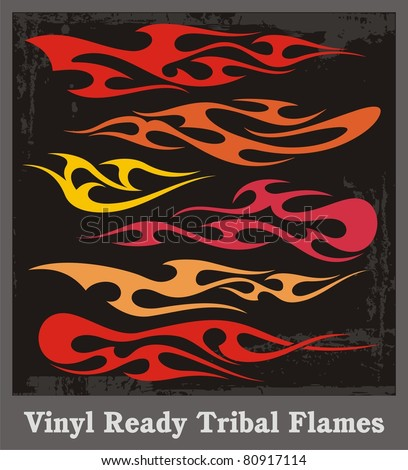 Car Flames Vector Vector Graphics Great For Car
