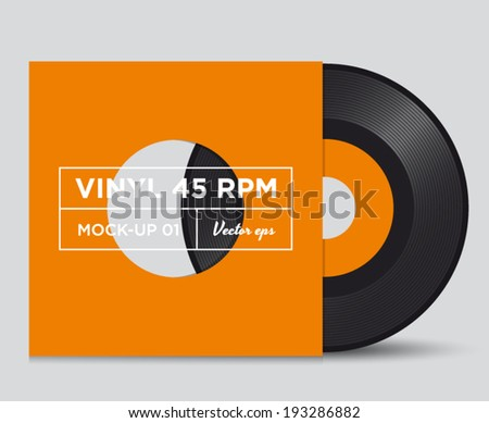 vinyl record 45 rpm mock up 01