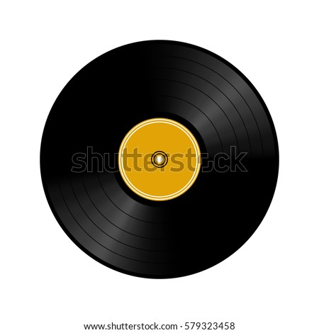 Vinyl record, Vector illustration