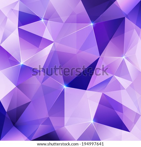 violet crystal vector abstract