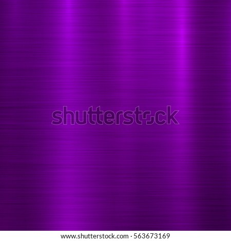 Violet metal abstract technology background with polished, brushed texture, chrome, silver, steel, aluminum for design concepts, wallpapers, web, prints, posters and interfaces. Vector illustration.
