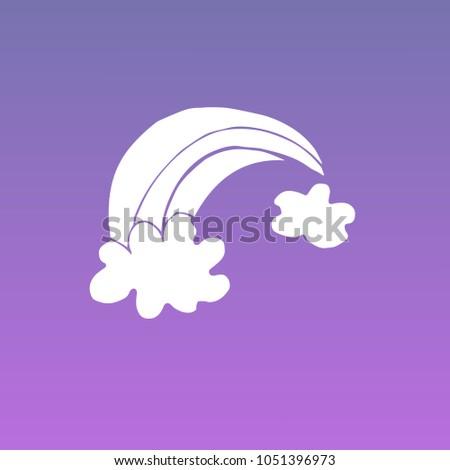 violet  purple colors flat