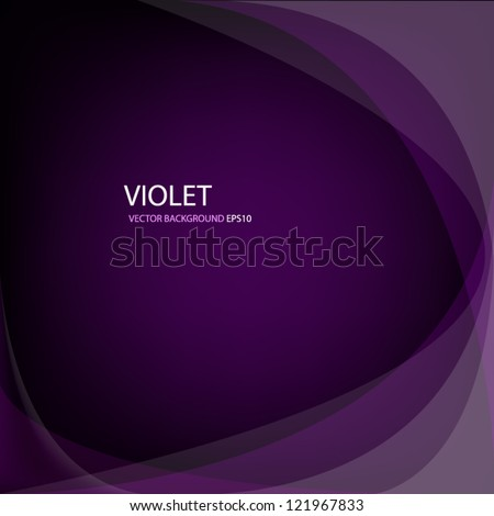violet purple vector art