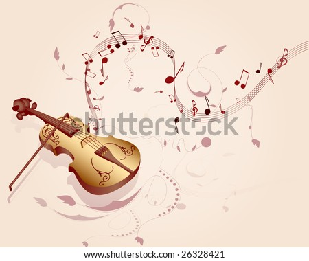 Violin, an instrument which sounds fine print