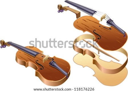 Violin parts that can fit.
