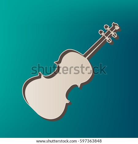 violine sign illustration