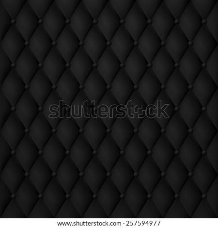 vip luxury black leather