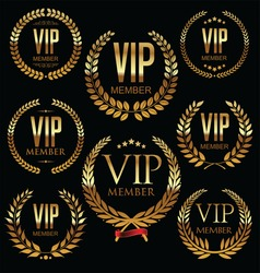 Vip member badge collection