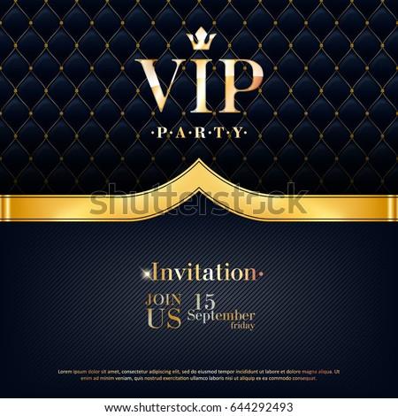 vip party premium invitation
