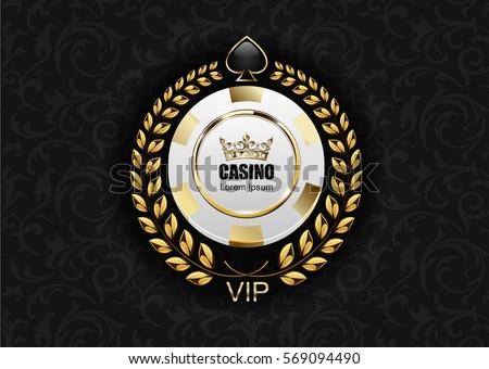 vip poker luxury white and