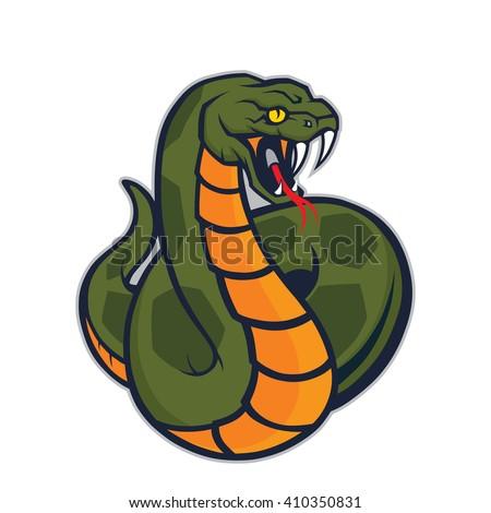 stock-vector-viper-snake-mascot