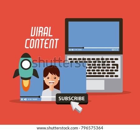 viral content video start launch suscribe digital