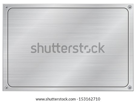 virgin aluminum panel