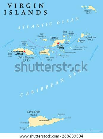 political map of the virgin islands jpg 1500x1000