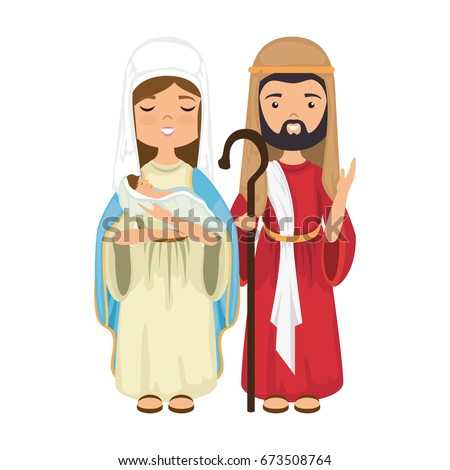 virgin mary and saint joseph