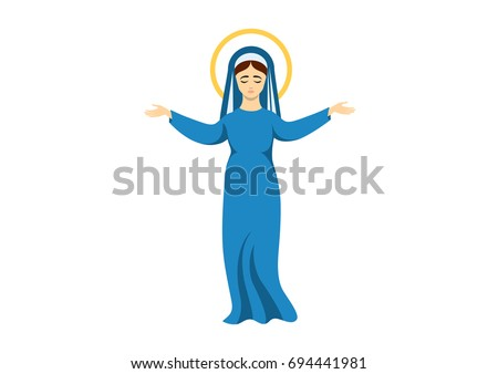 virgin mary vector assumption
