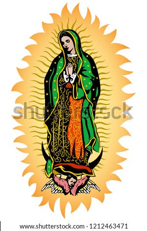 virgin of guadalupe  mexican