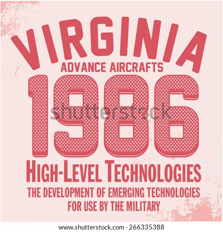 virginia   vector graphics and