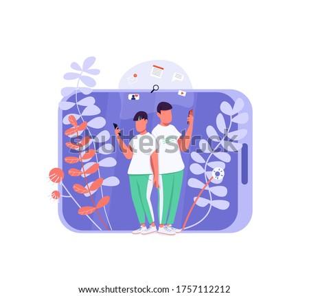 virtual communication flat