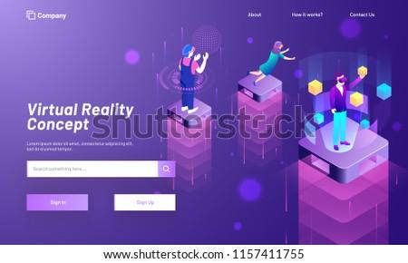 virtual reality concept based