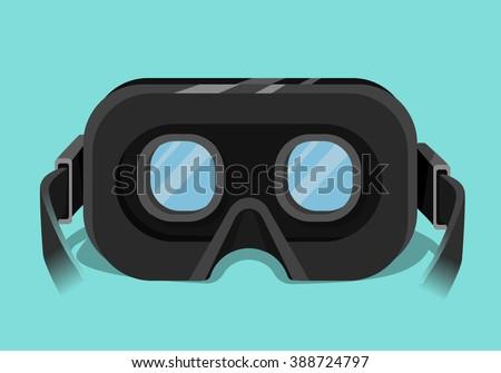 virtual reality headset 3d