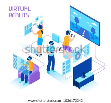 virtual reality isometric