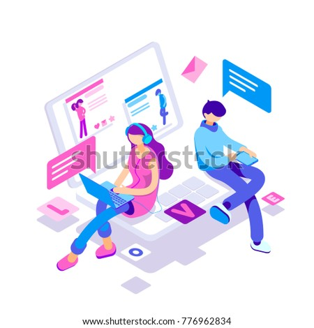 virtual relationships  online
