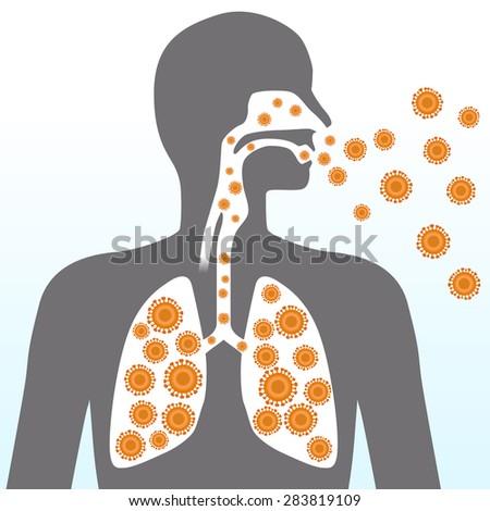 Virus and infection, image illustration Сток-фото ©