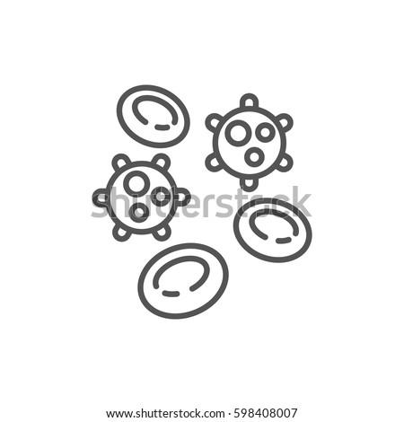 viruses and erythrocytes