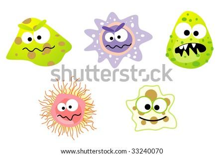 Hygiene germ bacteria flu virus bacterias viruses may have viruses