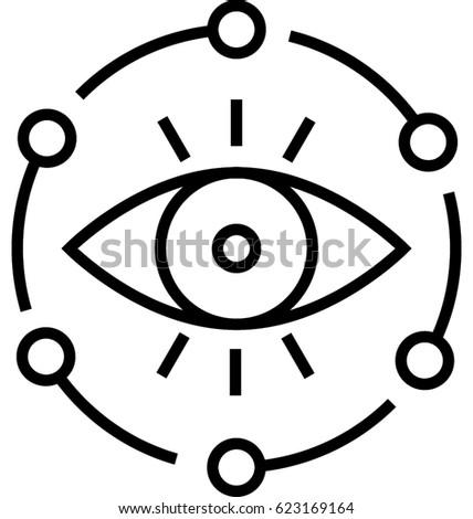 Vision Vector Icon
