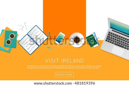 visit ireland concept for your
