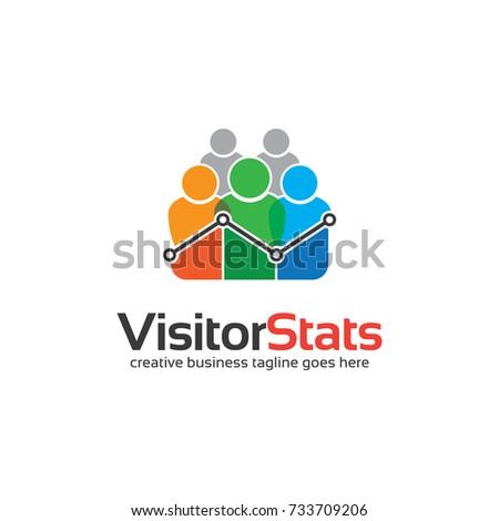 Visitor Stats Logo