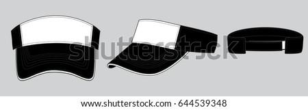 Shutterstock visor cap