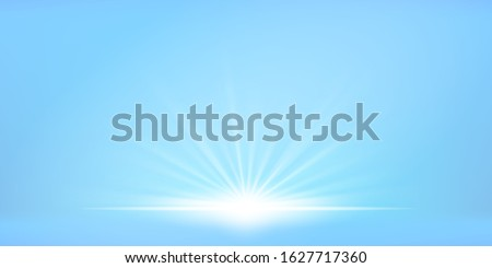 visual drawing of natural sun