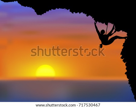 visual drawing silhouettes of