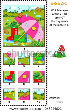 visual logic puzzle with