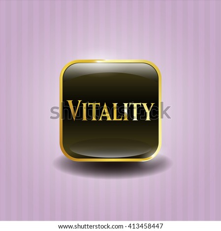 Vitality gold badge